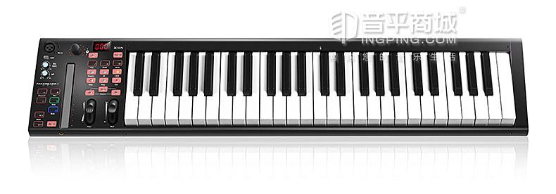 艾肯(iCON) iKeyboard 5S VST 自带声卡功能的49键 MIDI 键盘控制器
