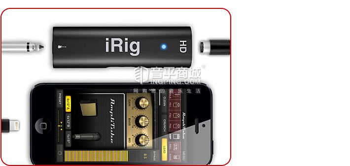IK(IK-Multimedia) iRig HD 高清 吉他贝司音频接口