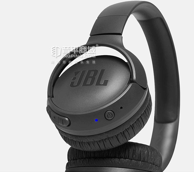 JBL T500BT 无线蓝牙头戴式运动重低音耳机 带线控