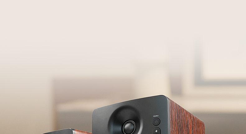 CM220台式HIFI多媒体2.0书架监听音响电脑蓝牙无线有源音箱