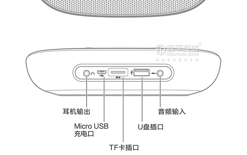 JBL TUNE2 迷你便携无线蓝牙插卡音箱