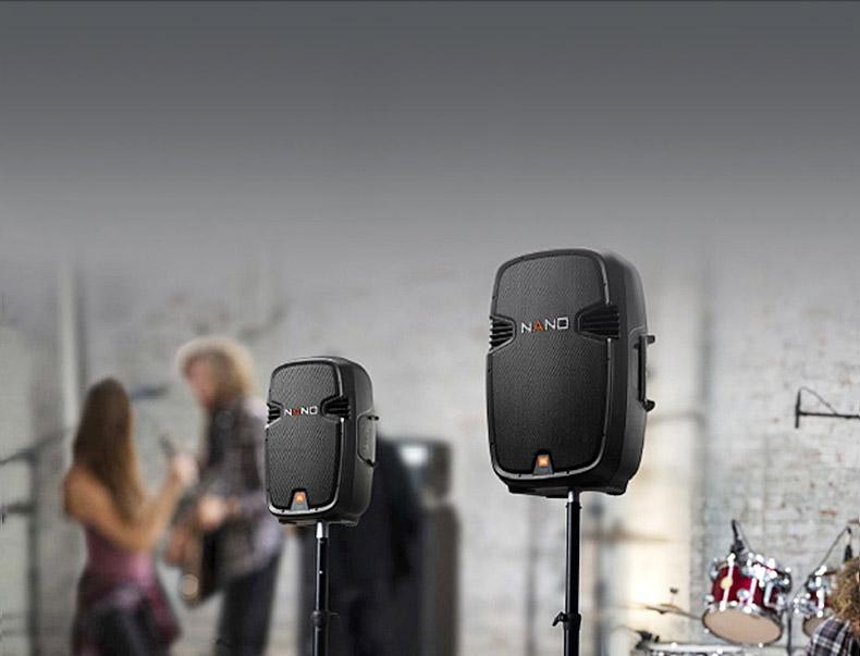 JBL NANO355 15寸便携式两分频专业舞台演出扩音无源音箱(单只)