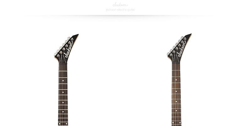 JS 12 Dinky 电吉他 枫木琴颈 玫瑰木指板 椴木琴体 原音 磨砂黑 杰克逊