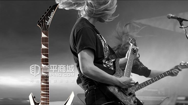 JS32T WARRIOR 燕尾电吉他 枫木琴颈 玫瑰木指板 椴木琴体 原音 琴头  杰克逊