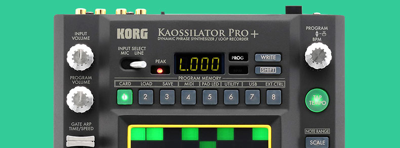 KORG KAOSSILATOR PRO+ DJ 混音器 效果器