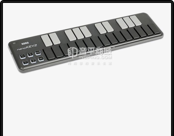KORG NanoKEY2 MIDI键盘 ipad可用