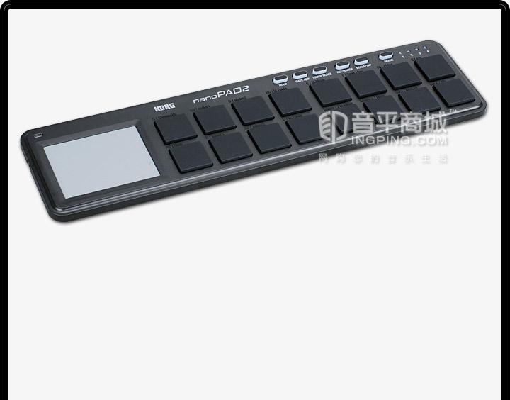 KORG NanoPAD2 MIDI打击垫 USB接口
