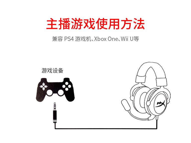 cloud core耳机主播游戏使用方法