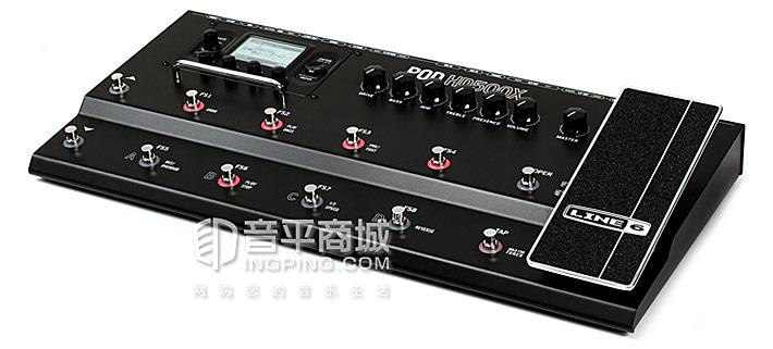 POD HD500X 专业综合高清电吉他效果器声卡参数