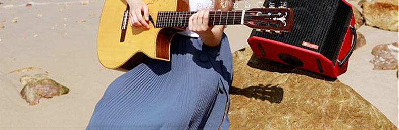 LPTA 魔方魔3plus电箱原声电木吉他户外便携式直播音箱