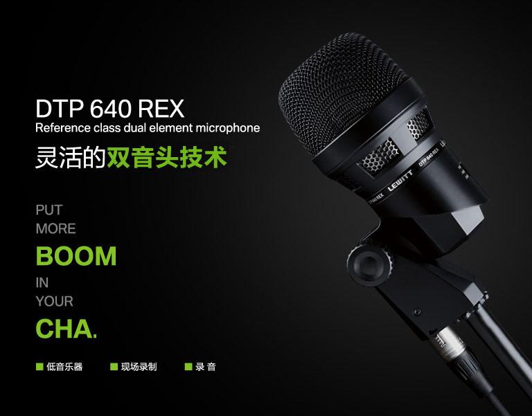 LEWITT DTP 640 REX 动圈大鼓麦克风