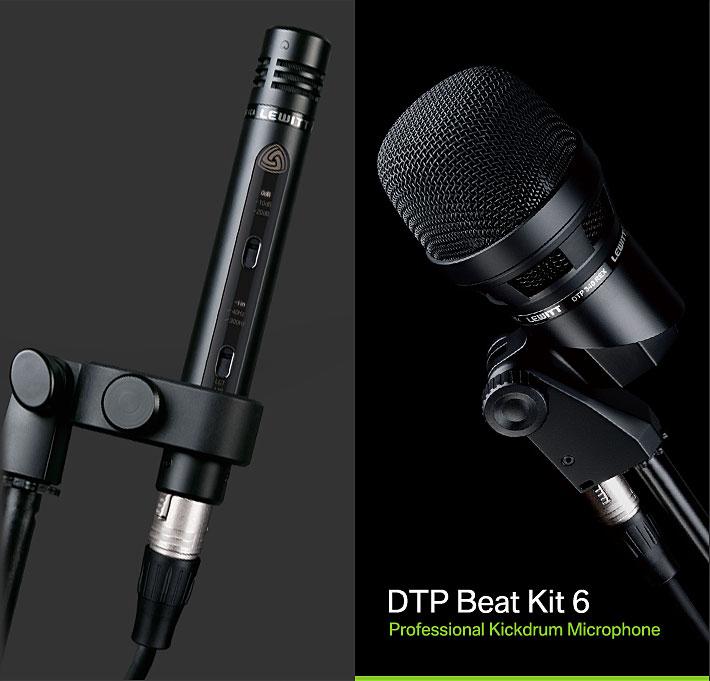 莱维特(LEWITT) DTP Beat Kit 6 动圈/电容6支装鼓组麦克风