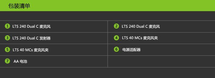 lewitt LTS 240 Daul C 专业演出无线麦克风