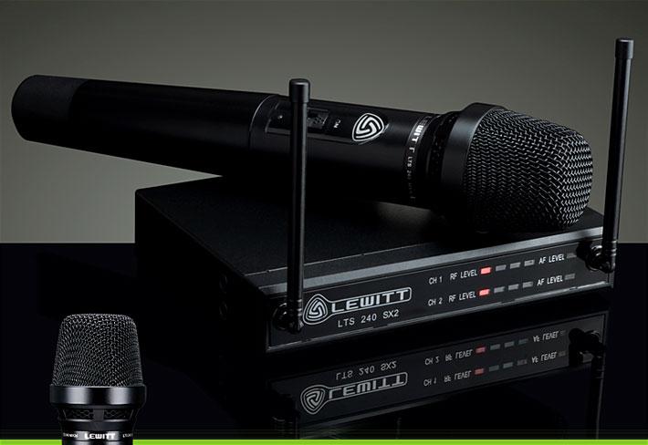 lewitt LTS 240 Daul D 专业演出无线麦克风