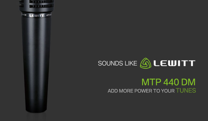 lewitt MTP 440 DM 动圈乐器麦克风