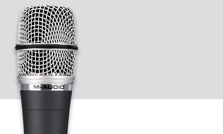 美奥多(M-AUDIO) ARIES 电容式舞台/录音麦克风