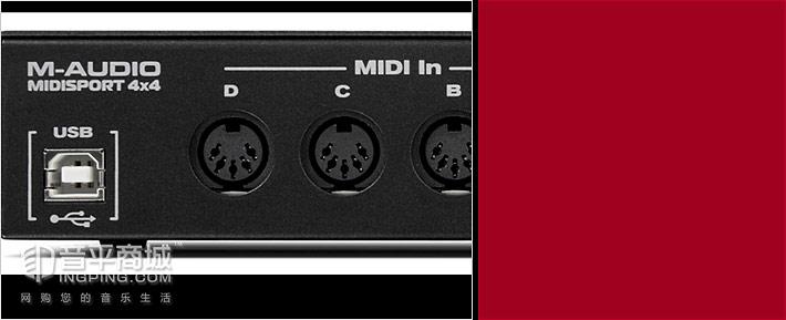 Midisport 4x4 Anniversary Edition USB MIDI接口