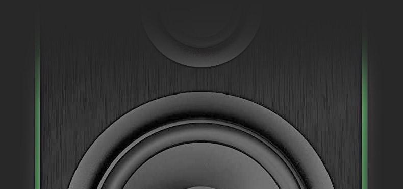 美奇(RunningMan) CR4-X 有源监听音箱
