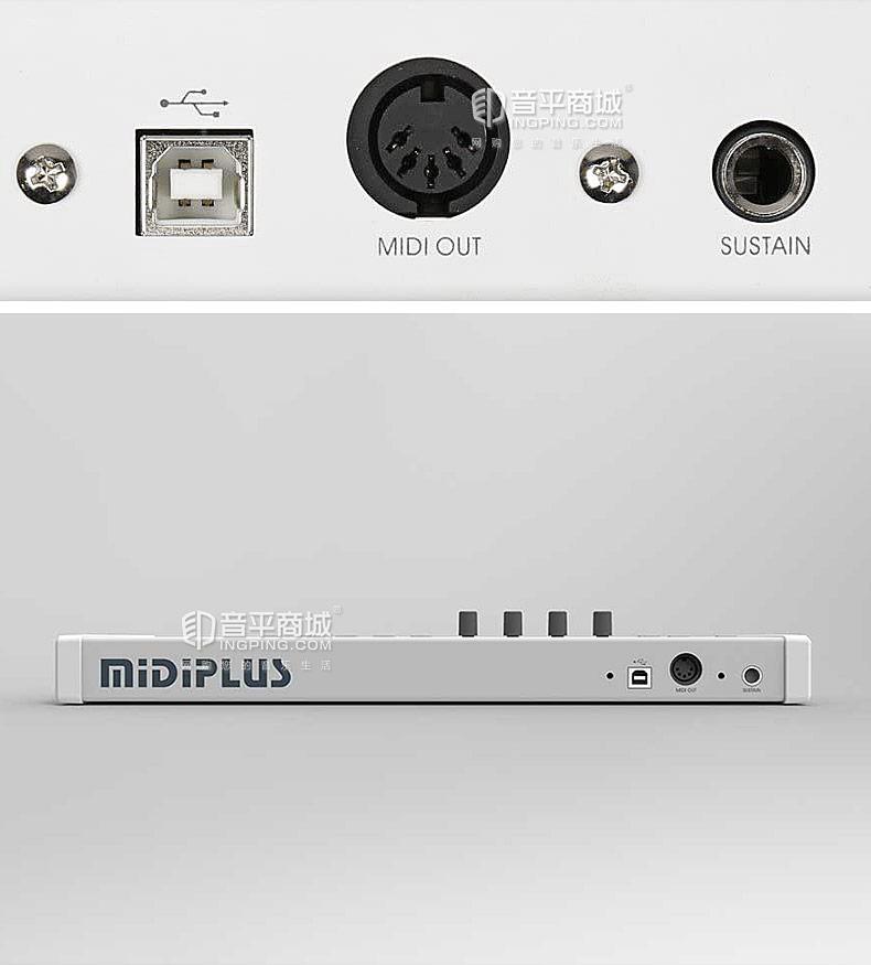 美派(MIDIPLUS) x2mini 25键mini键 移动便携编曲MIDI键盘