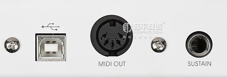 美派(MIDIPLUS) x6mini 61键mini键 MIDI键盘 移动便携编曲MIDI键盘