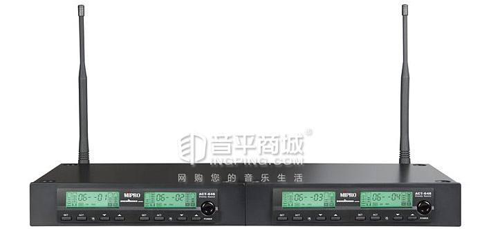咪宝(MIPRO) ACT-646 一拖四无线演出手持话筒 技术参数