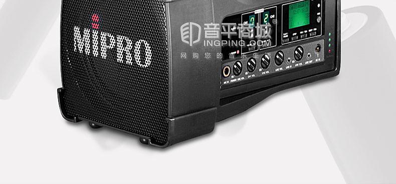 MA-100DB双通道无线便携音响移动音箱扩音器户外(配手持麦)