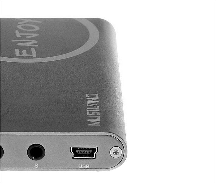 乐之邦(MUSILAND) LILO V ENJOY (玲珑)电脑K歌USB外置7.1声卡