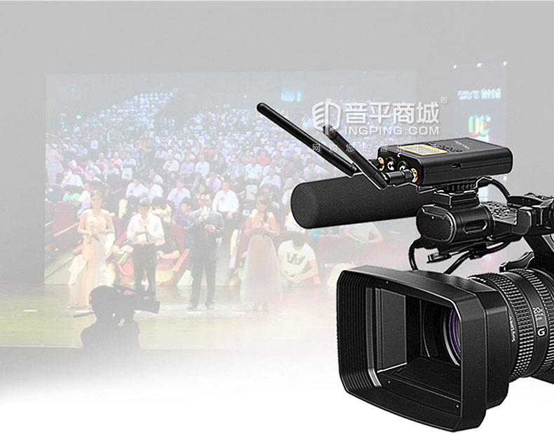 麦拉达(mailada) WM9 专业无线采访影视手机直播单反录音麦克风 小蜜蜂摄像机领夹话筒
