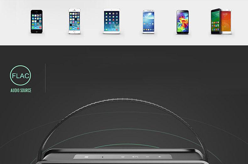 鑫宝视(monpos) Stylebox P5 智能NFC蓝牙音箱