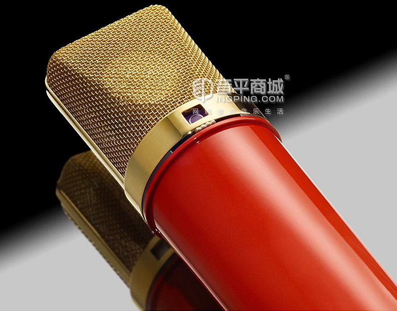 纽曼(Neumann) 德国进口 U87 Ai专业录音电容麦克风(中国红限量版)