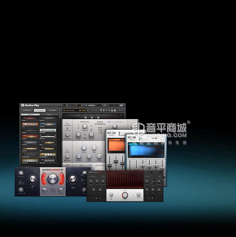 恩艾(native instruments ) KOMPLETE 11 ULTIMATE 正版完整套装硬盘版软件
