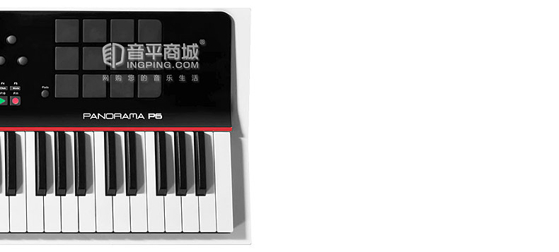 Nektar Panorama P6 61键全景半配重编曲MIDI键盘控制器