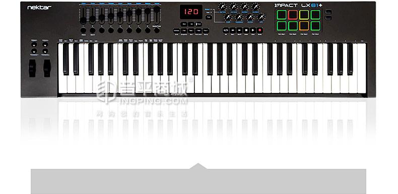 Impact LX61+ 61键便携式编曲MIDI键盘