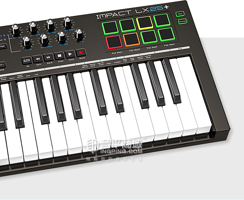 Impact LX25+ 25键便携式编曲MIDI键盘