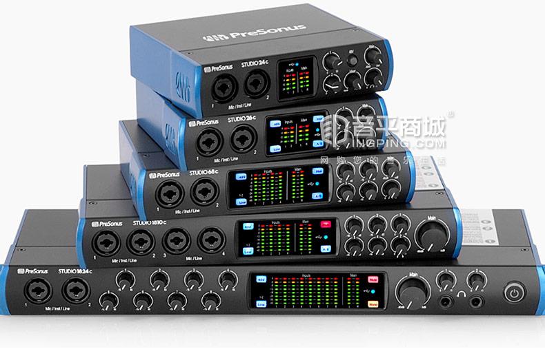 studio 24C 2进2出USB-C音频接口USB2.0
