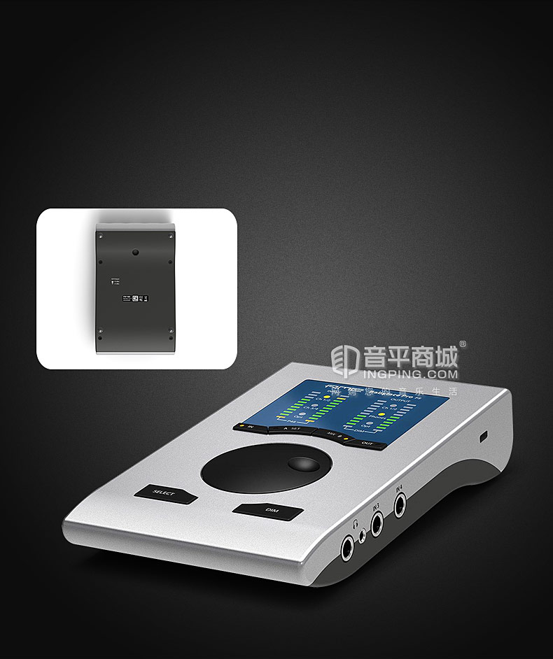 RME Babyface Pro FS 便携音频接口改进版 USB声卡专业录音主播直播
