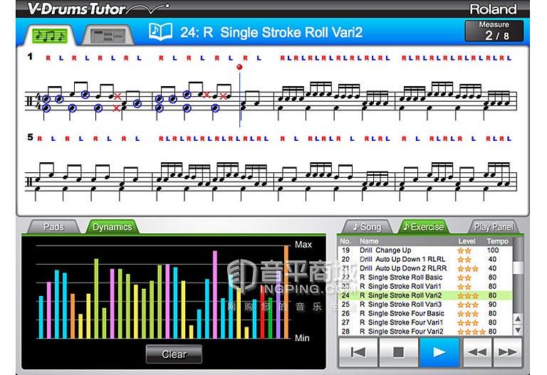 DT-1电鼓软件学习套装