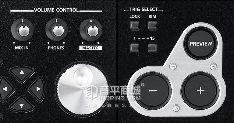 罗兰TD-30 鼓音源按钮