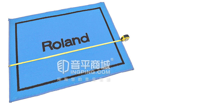 罗兰TDS-90鼓地毯长和宽