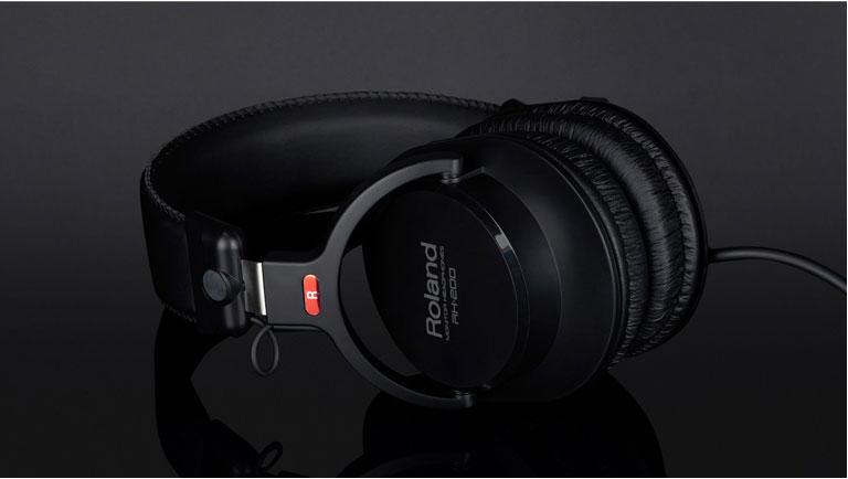 罗兰rh-200立体声耳机