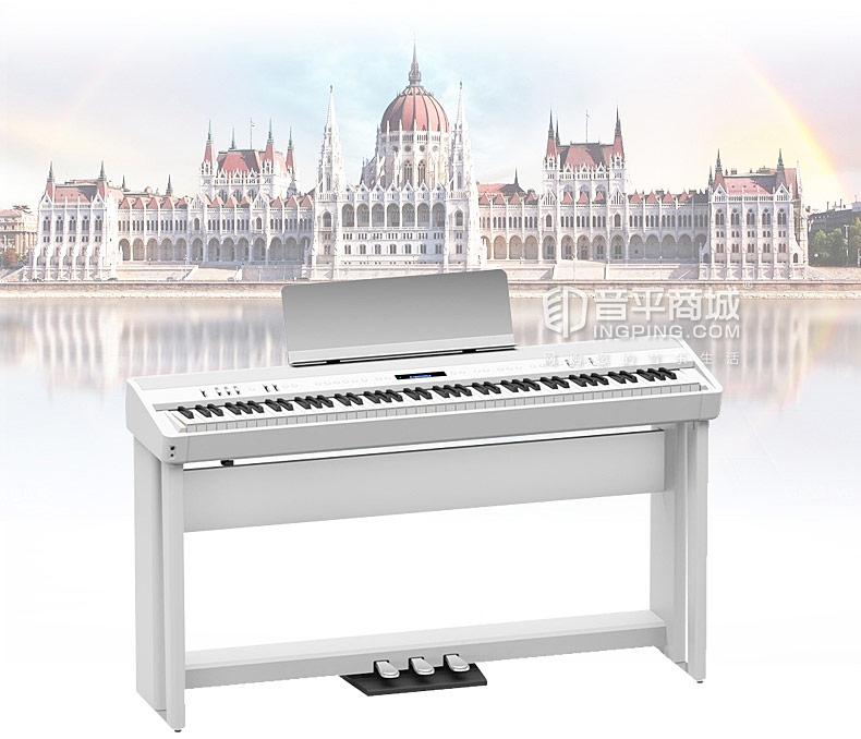 罗兰(Roland) FP-90 88键全配重锤电钢便携式智能数码电钢琴