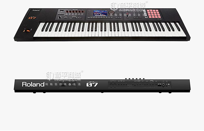 罗兰(Roland) FA-07 76键电子音乐合成器 音乐工作站 电子琴 键盘
