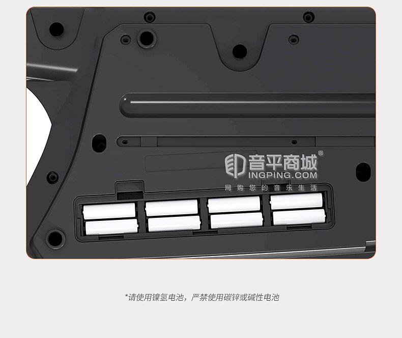 AX-Edge-B 战斧合成器舞台演出升级款49键肩背式MIDI键盘(黑色)