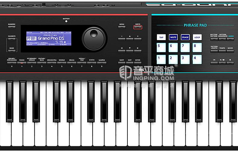 罗兰(Roland) JUNO-DS76 76键电子合成器个人工作站重锤配重键盘