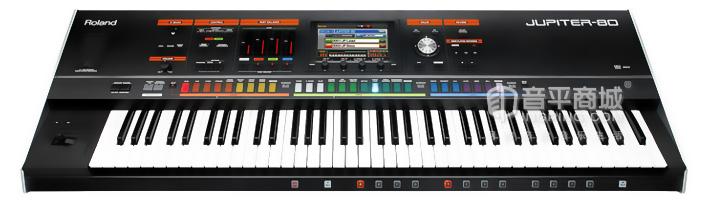 罗兰(Roland) jupiter-80 舞台现场 合成器 76键