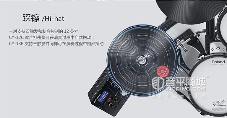 TD-25K 电子鼓踩镲介绍