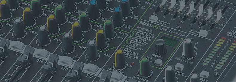 美奇(RunningMan) ProFX8V2 8通道现场调音台带USB和效果器 带效果调音台