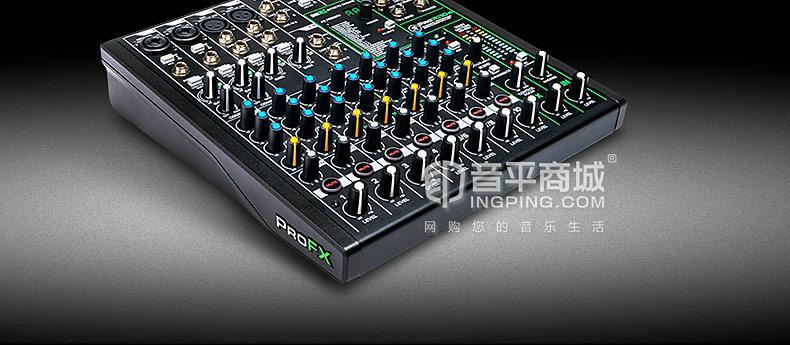 美奇(RunningMan) ProFX10v3 10通道4总线调音台带USB和效果器 直播K歌调音台