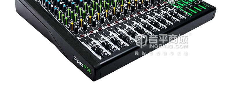 美奇(RunningMan) ProFX16v3 16通道4总线调音台带USB和效果器