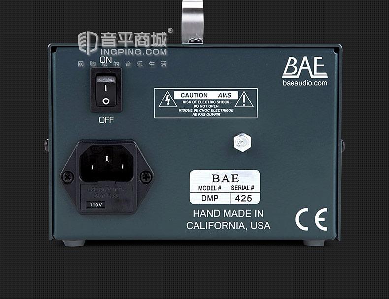 尼夫(Rupert Neve) BAE 1073 DMP 单通道话筒放大器 BAE桌面版话放